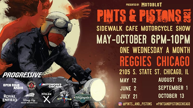 Motoblot Presents Pints & Pistons